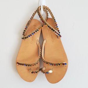 Elina Linardaki Sandals Size 40